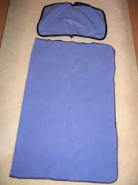 CUSTOM MADE BABY BLUE FLEECE BLANKET