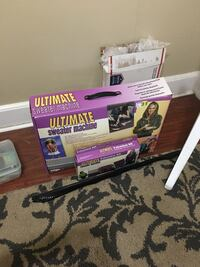 Ultimate sweater machine. Lightly used with expansion pack. Not my thing.  Aldie, 20105