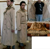 Vintage 80's Men's Burberry Trenchcoat 40s