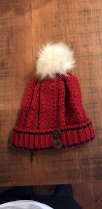 Faux Fur Red Hat (NEW) Toronto, M6K 3M4