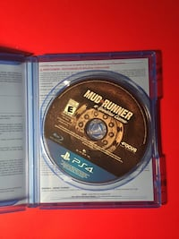 Mud runner a spin tires game ps4 brand new Montréal, H9H 2Z1