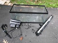 20 gallon fish tank with equipment Fairfax