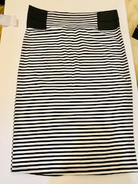 white and black stripe sleeveless dress Нью-Йорк, 11214