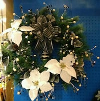 white and green artificial flower decor Greeneville, 37743