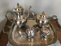 Tea trolly t silver teas set Toronto, M1E 3G6