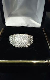 2cttw Diamond Cluster ring I-14960
