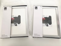 Pair of UMBRA Modern Photo Frames BRAND NEW Markham, L3P 3K9