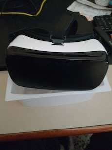 Blanco y negro Realidad virtual googles