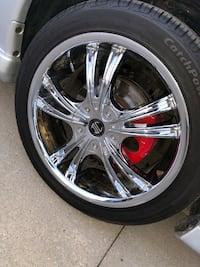 Sports Chrome Rims & tires 18 inch for sale!**
