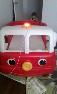 WORKING step 2 FIRETRUCK TODDLER'S BED