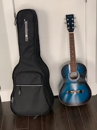 Guitar with thick foam guitar