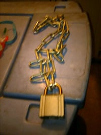 CCL. Padlock & 3 feet steel chain Modesto, 95358