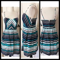 City Triangle Striped Dress-Size S Farmers Branch, 75244