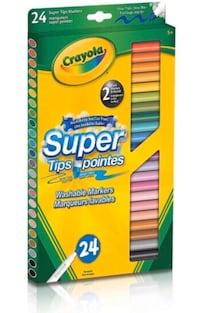 Crayola pencils and washable markers Edmonton, T5T 6V3