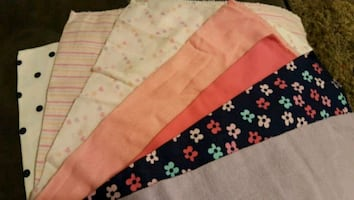 BURP CLOTHS/CLOTH DIAPERS
