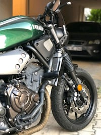 FOREST GREEN CAFE RACER / TRACKER XSR 700 Istanbul