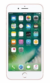 iPhone 7 Plus   Rose Gold   128 GB   Mint condition 548 km