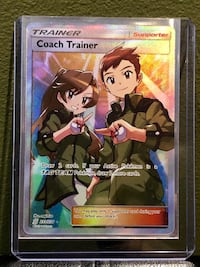 "Pokémon Card ""Coach Trainer"" 233/236 Unified Minds Bethlehem, 18018"