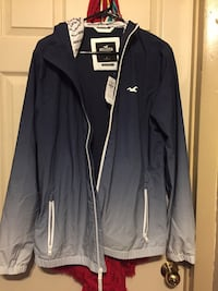 Hollister wind breaker jacket  Winnipeg, R3B 2T6