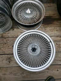 20inch Chrome wire wheels