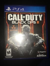Sony ps4 call of duty black ops iii  Albuquerque, 87120