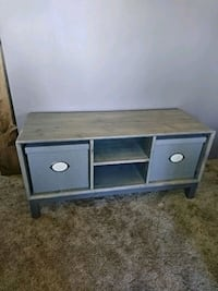Stained and Finished Ikea Storage Bench Burnaby, V3N 3J1