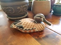 Collectable wooden duck  Port Colborne, L3K