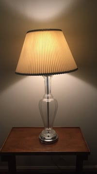 clear glass table lamp Silver Spring, 17050