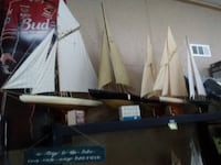 New Small Handmade Sail Boat Models many different sizes Gainesville