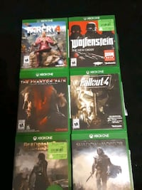 Xbox one games.. all at once.. Coquitlam, V3J