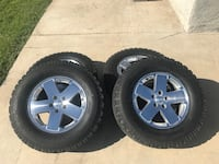 Jeep Rubicon 18 inch rims with 33 inch tires Highland, 92346