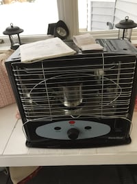Kerosene heater.  Brand new.  Paid $199 on sale plus tax.  Have receipt and manual.  Pick up only