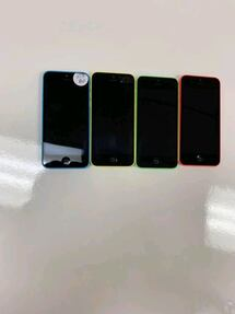 iPhone 5c 16GB available in blue/yellow/green/pink