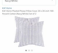 2 Pillow covers 20x20 6 km