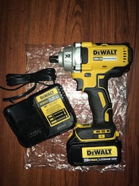 Dewalt 20v Brushless 1/2 Impact Wrench Kit (DCF894) 3.0 Battery Pack and Charger included  New York, 10453