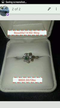 Beutiful 14 ct. Gold Ring Bakersfield, 93307