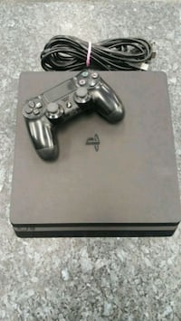 500GB PS4 with Controller and Hookups Edmonton, T5M 3R2