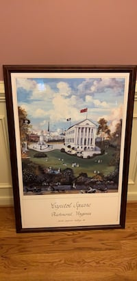 Parks Pegram Duffey framed print Mechanicsville, 23116