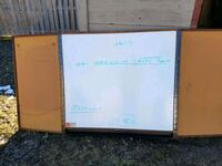 Large  marker sign with cork board on each side Hamilton, L9A 2Z7