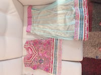 Beautiful shirt and gharara 5 year old girl Eid party outfit Mississauga, L5M 0X1