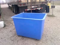 blue and white plastic container Commerce City, 80022