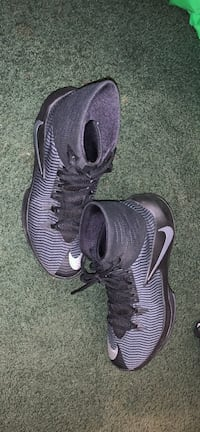 pair of gray-and-black Nike cleats Pelahatchie, 39145