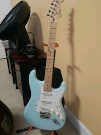 Squier Deluxe Stratocaster and amp Surrey, V3S 0T7