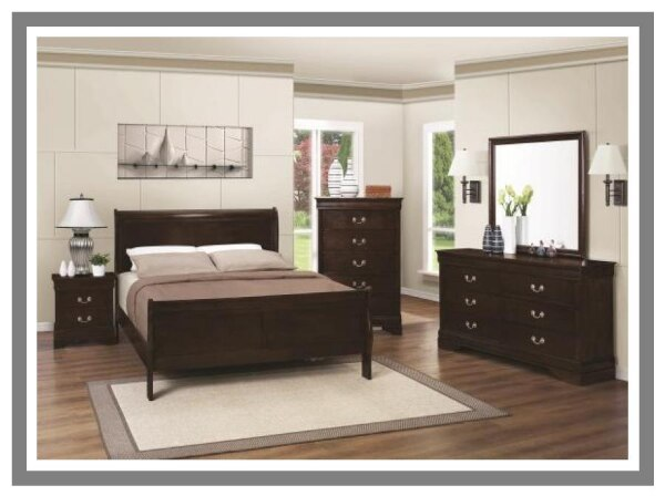 5 PC Louis Philippe Bedroom set