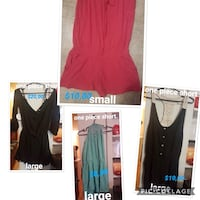 women's red and black dress Montreal