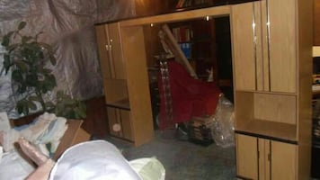 2 Wardrobes w/ Lights Overhead Full or Queen Bed