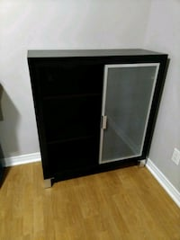 Espresso EQ3 Cabinet With Frosted Glass Door  $75  Ottawa, K1L 5E7