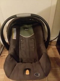 baby's black and gray car seat carrier Hope Mills, 28348