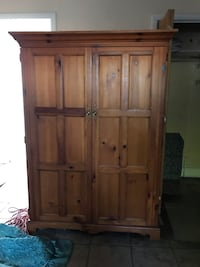 brown wooden cabinet with cabinet West Kendall, 33185