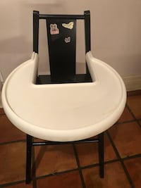 white and black high chair Toronto, M6H 2T1